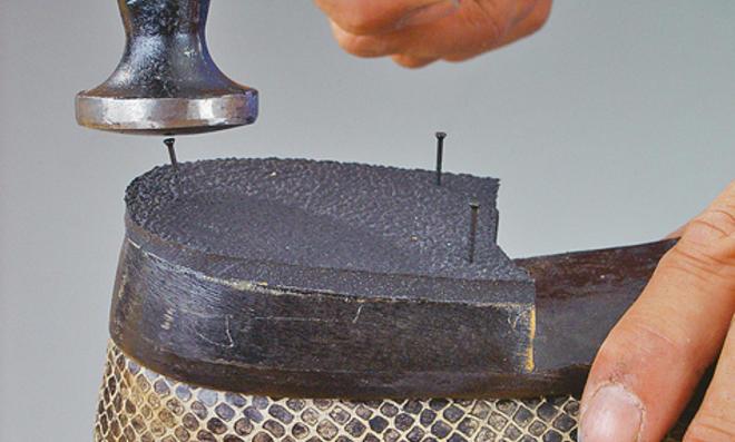 Schuhe selber reparieren