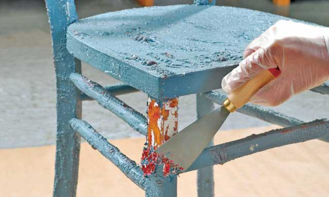 Möbel reparieren
