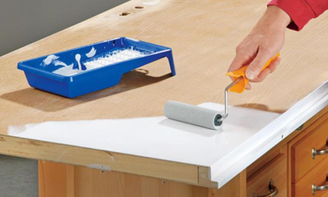 Fußboden Weiß Lackieren ~ Möbel lackieren selbst