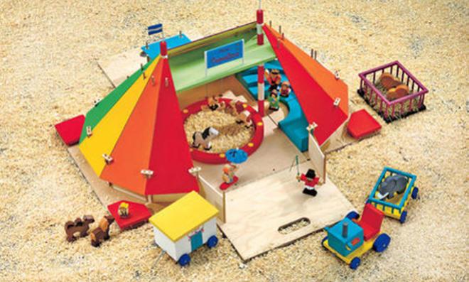 Selbst gebaute Geschenke für Kinder