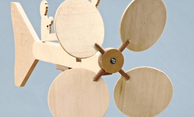 Bauanleitung Windspiel