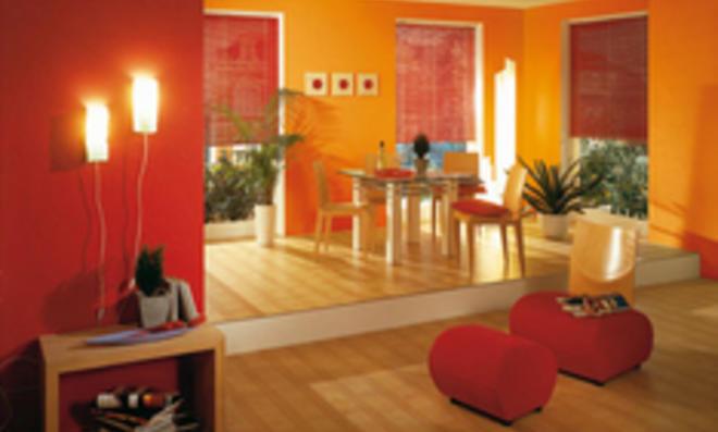 Raumgestaltung mit Farbe: Die Stupftechnik