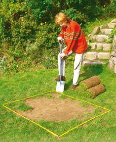 Rollrasen: Rasen ausbessern