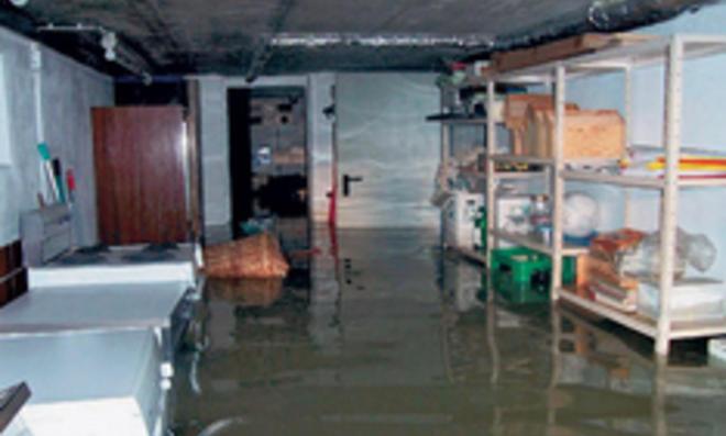 Hochwasserschutz - Rückstausicherung am Haus