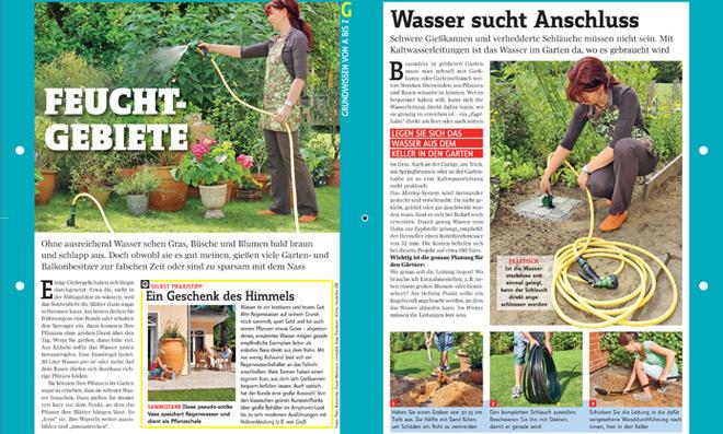 Grundwissen Gartenbewässerung