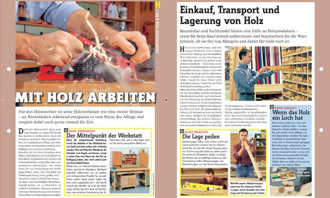 Grundwissen Holzwerkstatt