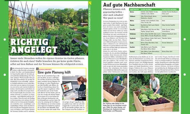 Grundwissen Nutzgarten