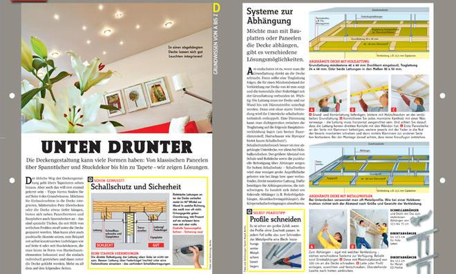 grundwissen deckengestaltung. Black Bedroom Furniture Sets. Home Design Ideas