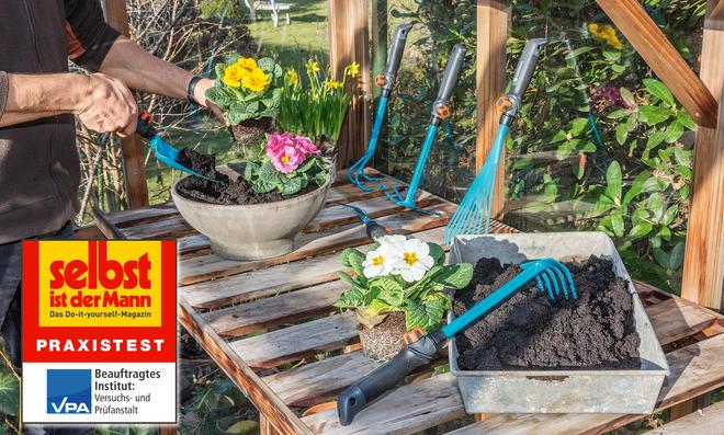 Gartenwerkzeug-Test