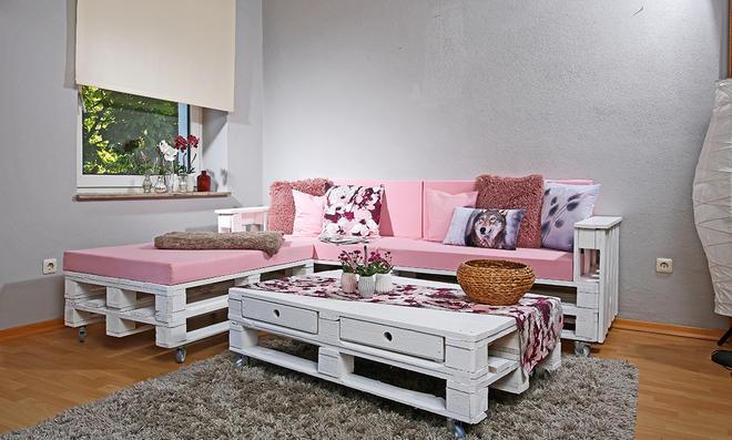Paletten couch selber bauen for Palettensofa bauen