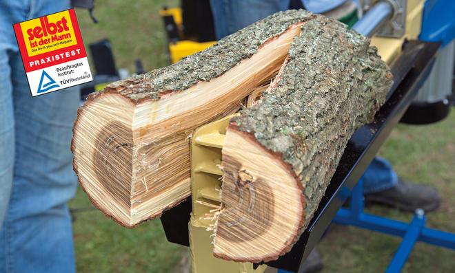 Holzspalter im Praxistest