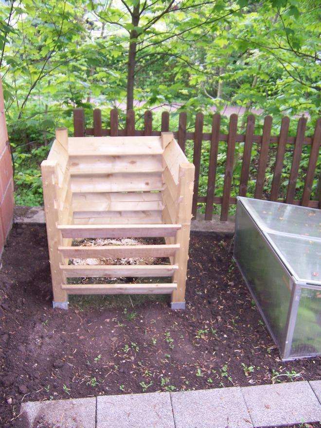 Kompost bauen