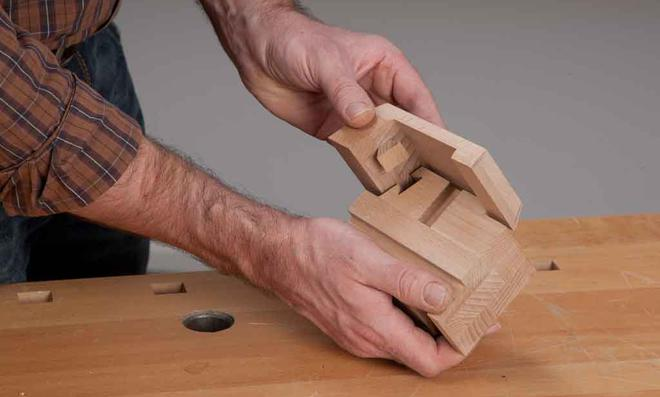 3D Puzzle: Gratleisten aufleimen