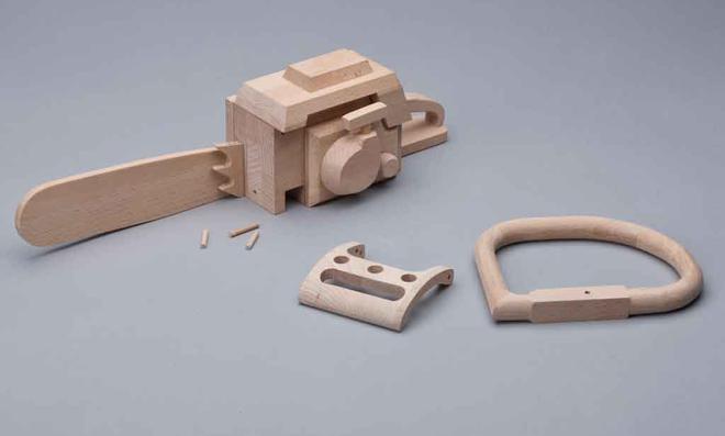 3D Puzzle: Schiene herausnehmen
