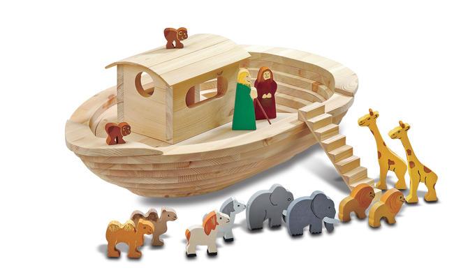 Arche Noah Holz Spielzeug