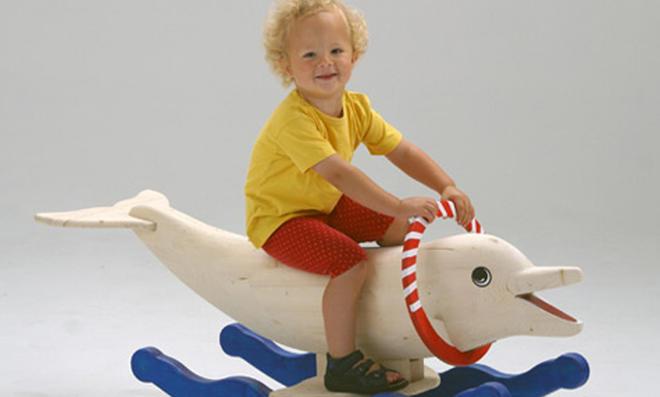 Bauplan: Schaukel-Delphin