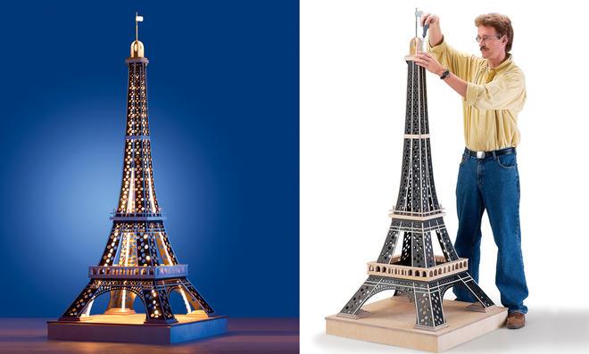 Eiffelturm bauen