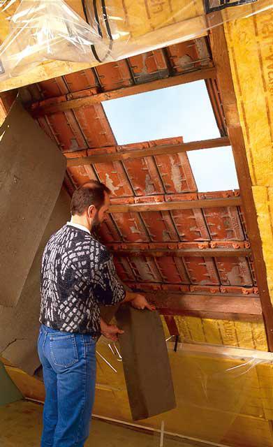 Dachpappe entfernen