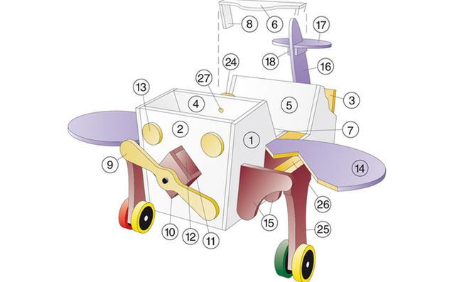 Kinder-Spieltisch: Zeichnung