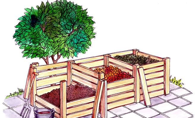 kompostieren. Black Bedroom Furniture Sets. Home Design Ideas