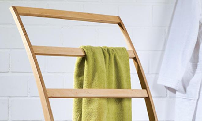 Leiter-Handtuchhalter
