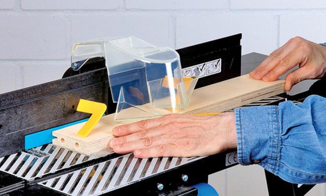 Spielwand: Rahmennut herstellen
