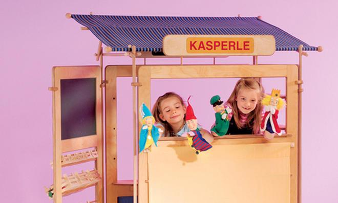 Spielwand: Kasperletheater