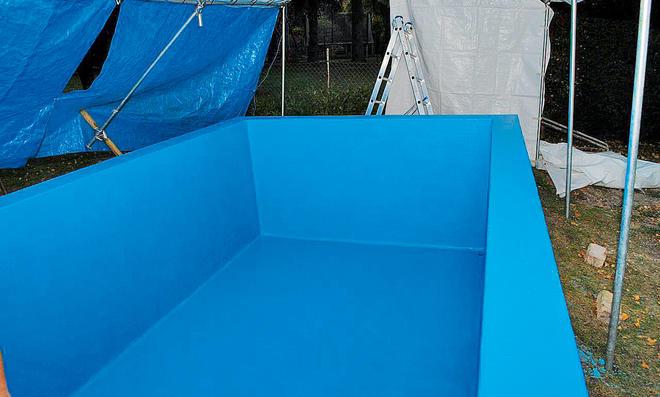 Pool Reparieren Selbstde - Pool fliesen oder streichen