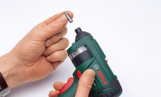 Revolver-Akkuschrauber von Bosch