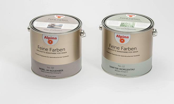 Feine Farben von Alpina