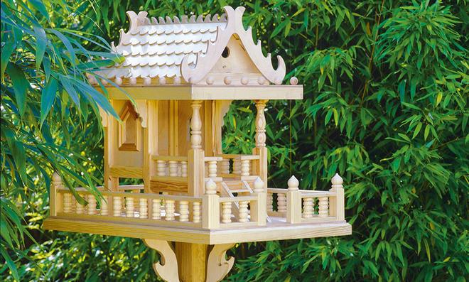 Asiatisches Vogelhaus