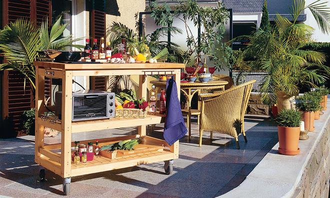 Möbel Für Außenküche : Außenküche selbst