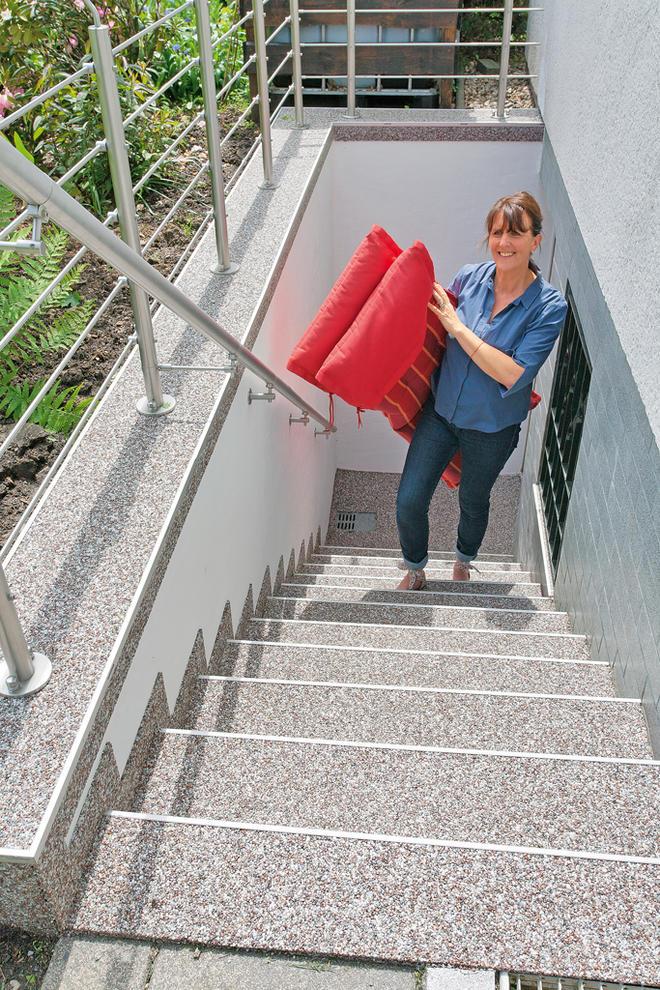 Außentreppe Sanieren Selbstde - Kellertreppe fliesen anleitung