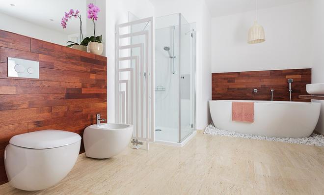 Fußboden Im Bad Ohne Fliesen ~ Bad ohne fliesen selbst