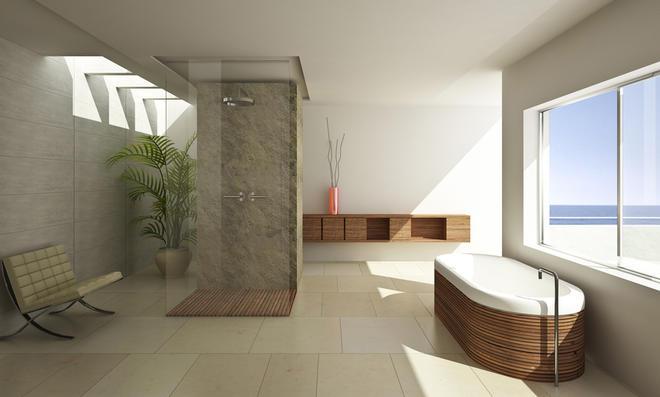 Badgestaltung Ohne Fliesen : Bad ohne fliesen selbst