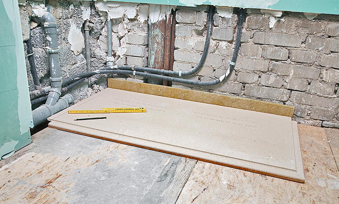 Fußboden Balken Osb ~ Holzbalkendecke ausgleichen selbst