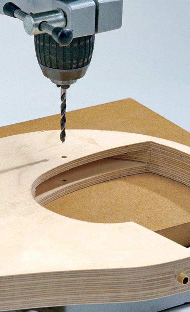 Bauanleitung Windspiel: Hubschrauber