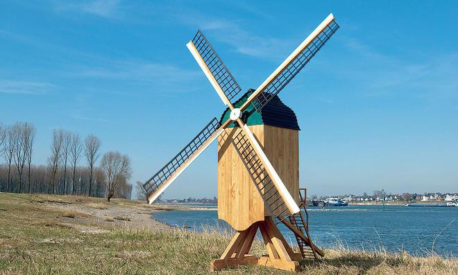 Bauplan Bockwindmühle