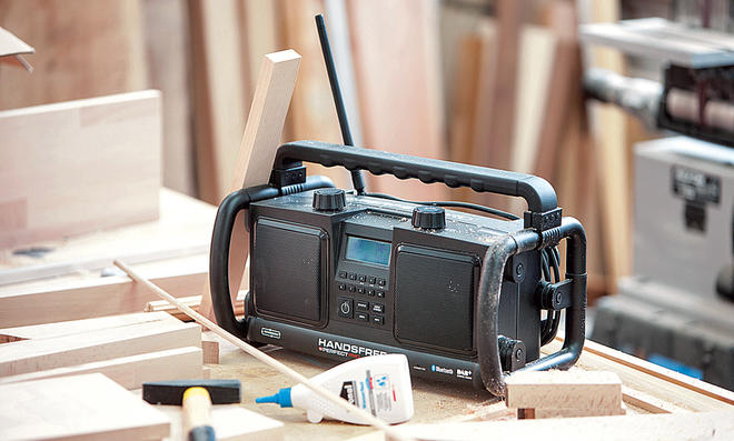 Robustes Werkstatt-Radio