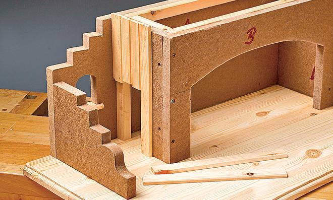 bauplan orient krippe. Black Bedroom Furniture Sets. Home Design Ideas