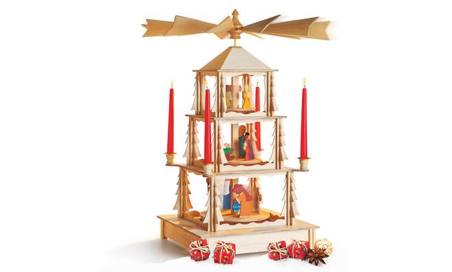 Bauplan: Weihnachts-Karussell