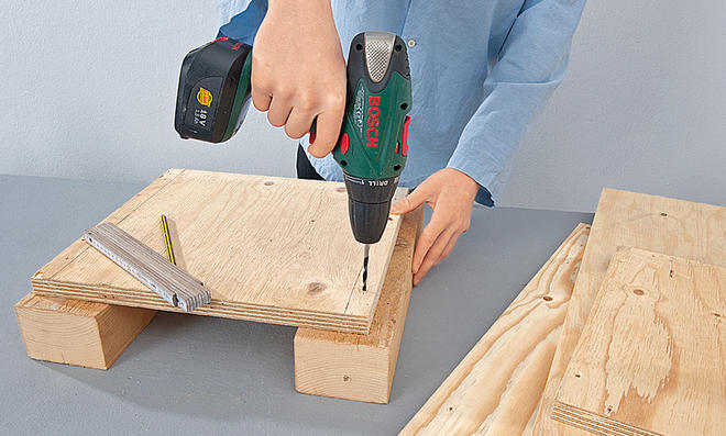 Brennholzregal selber bauen  Brennholzregal | selbst.de