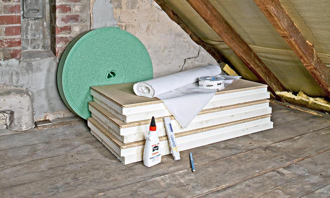 Fußboden Dämmung Druckfest ~ Dachbodendämmung selbst