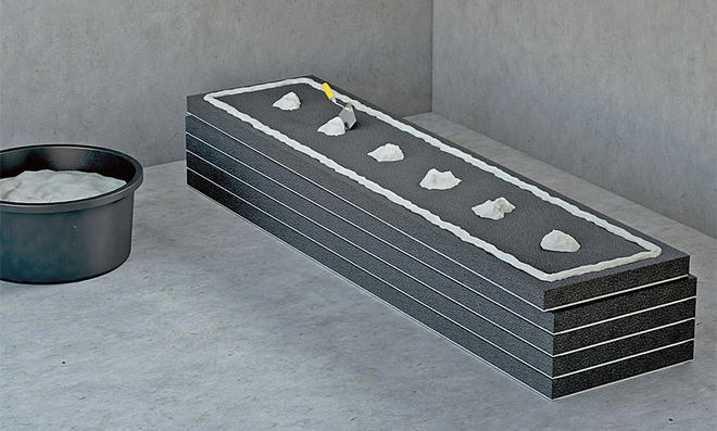 Innendämmung mit Gipskartonplatten