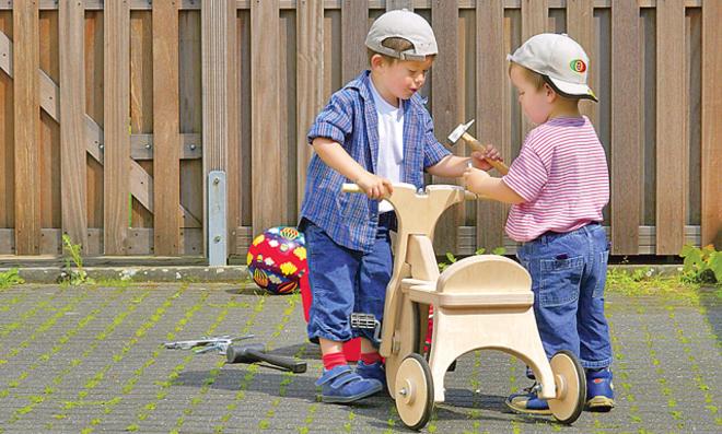 Dreirad bauen