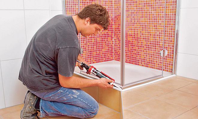 Duschkabine Einbauen duschwanne einbauen selbst de