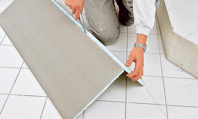 duschtasse einbauen cheap die fugen des duschbodens mit. Black Bedroom Furniture Sets. Home Design Ideas