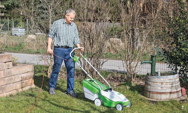 selbst ausprobiert: Elektro-Rasenmäher von Viking