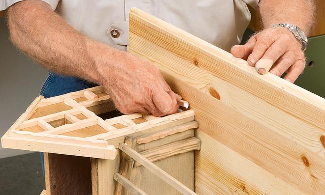Fachwerkkrippe selber bauen