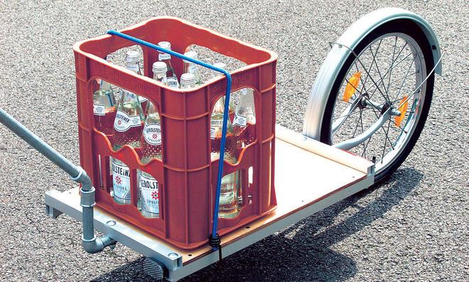 Fahrrad-Anhänger selbst bauen